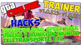 GTA 5 PC ONLINE HACKS - TRAINER - MODS - ¡INVENCIBILIDAD, DINERO INFINITO, SPEED HACK!