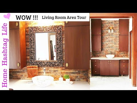 Living Room ( Wash Basin Area ) Tour ! House To Home ...