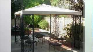 Replacement Canopy For The Costco Fleur De Lis Gazebo