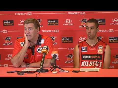 Perth Wildcats - Gleeson and Kernich-Drew Press Conference - 13 October 2017
