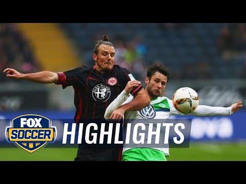 Eintracht Frankfurt vs. VfL Wolfsburg | 2015–16 Bundesliga Highlights