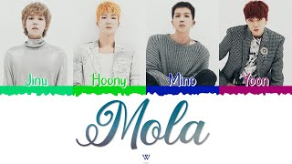WINNER (위너) - Mola (몰라도 너무 몰라) [Color Coded Lyrics Han|Rom|…