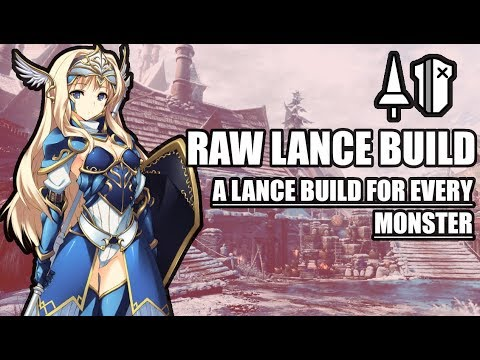 RAW LANCE BUILD | MHWORLD: Iceborne - Royal Grace Pike\ Ruinous Perdition