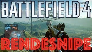the bf4 rendesnipe a bf4 sniper rifle rendezook bf4 epic moments playlist