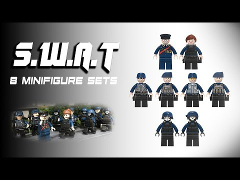 Lego SWAT Knockoff Minifigures Review