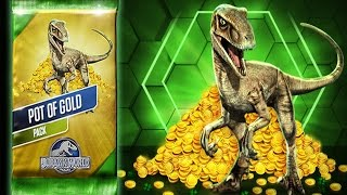 POT OF GOLD PACK - Jurassic World The Game