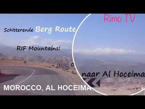 Onderweg naar Al Hoceima (Moroccan northern Rif mountains)