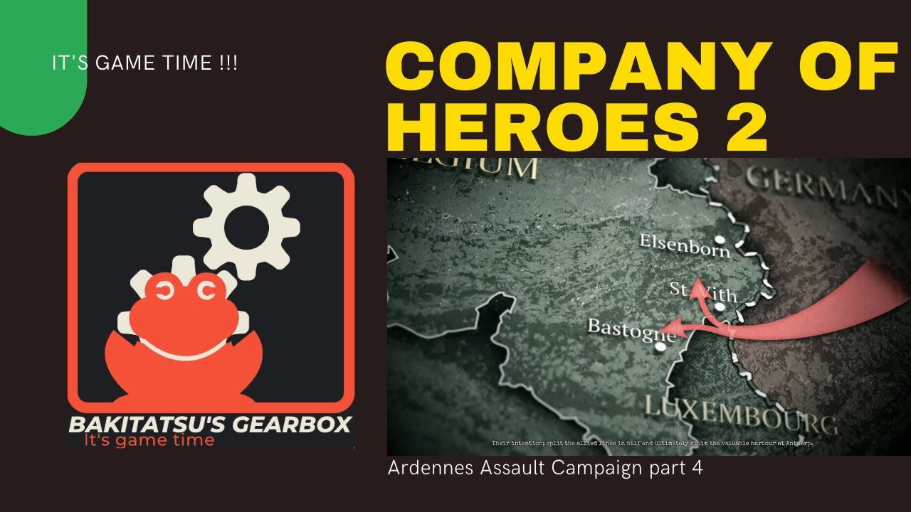 maxresdefault - Company of Heroes 2 Ardennes assault campaign part 4