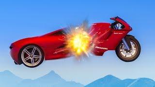"NEW CRAZY STUNT RACES! - (GTA Online ""Transform"" Races)"