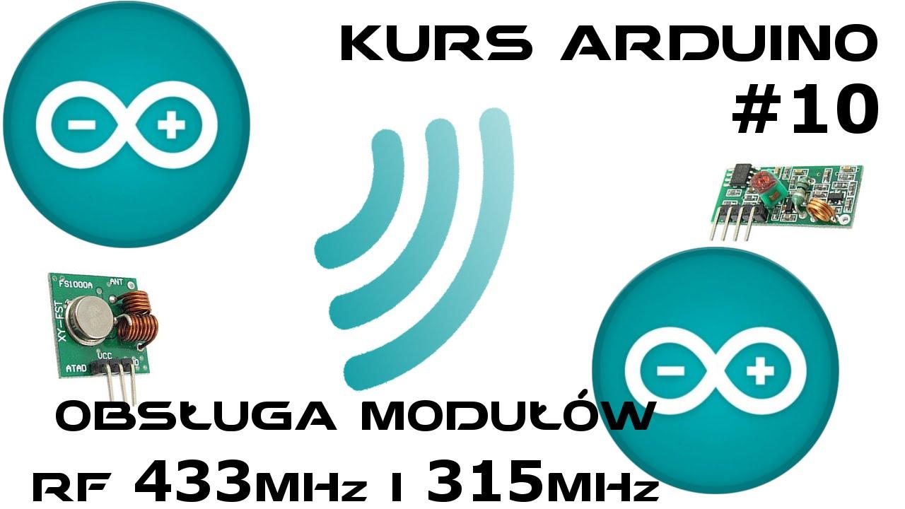 Arduino Obsługa Modułów Rf 433mhz 315mhz Feriar Laboratory