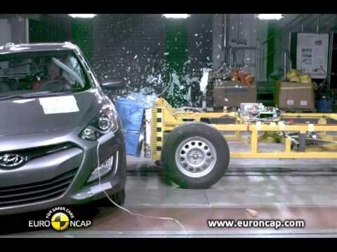 Euro NCAP Hyundai i30 2012 Crash test