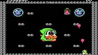Bubble Bobble - Nes - Full Playthrough - No Death