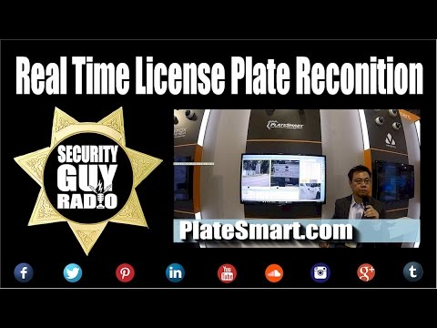[193] Real Time License Plate Recognition with PlateSmart.co