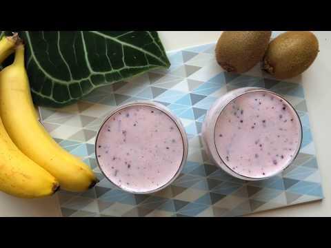 Витаминный смузи с йогуртом