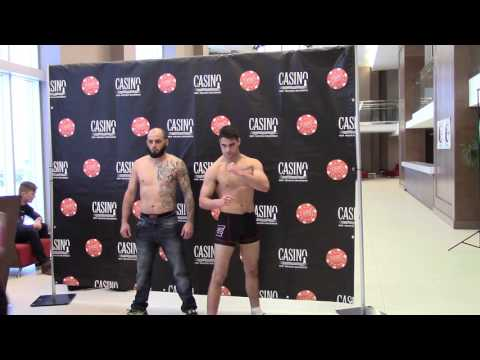 "Elite 1 MMA "" UNLEASHED "" (OFFICIAL WEIGH-IN)"