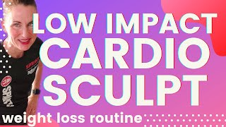 60 MIN WORKOUT LOW IMPACT CARDIO SCULPT WEIGHT LOSS WORKOUT AT HOME WORKOUT FOR WOMEN OVER 40