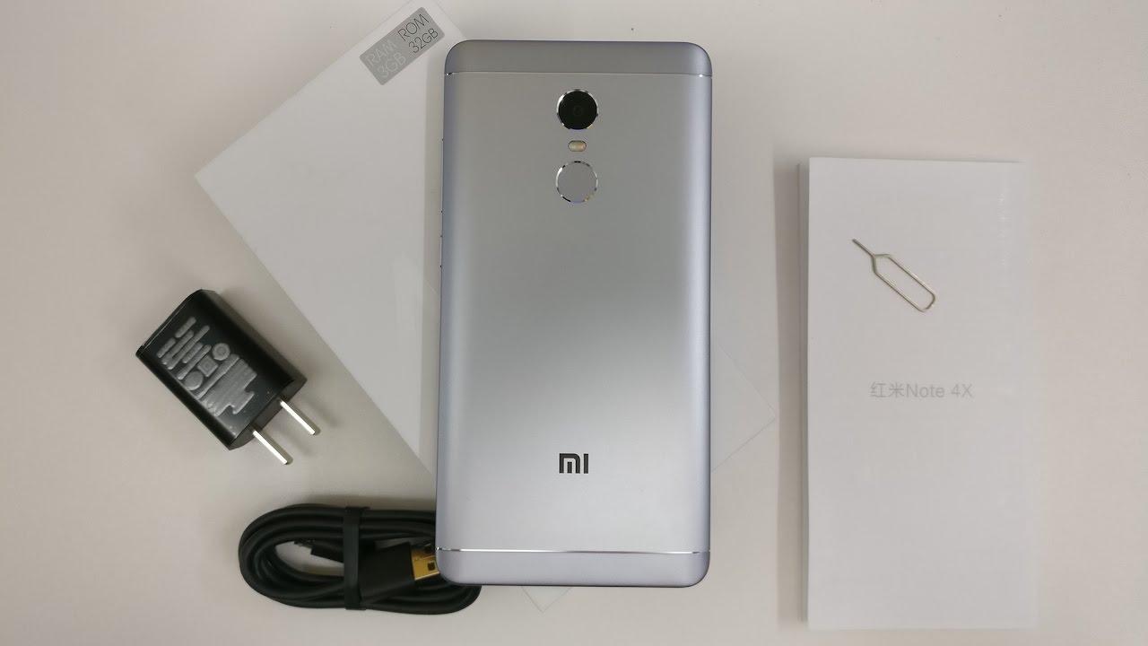 Xiaomi Redmi Note 4x Unboxing