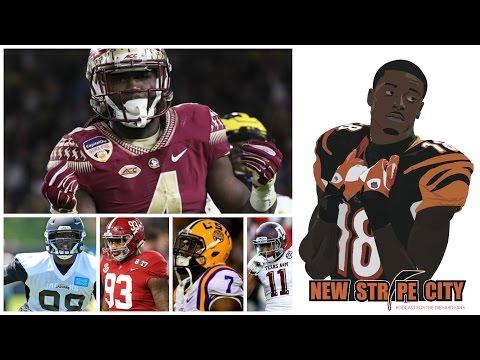 Cincinnati Bengals Pre-Draft Visits | Fan Questions | Mock Draft | Dalvin Cook | Chris Smith Trade