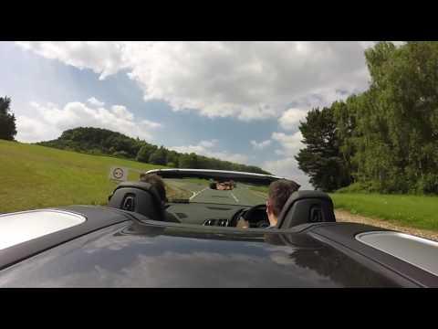 Audi R8 Spyder around Millbrook