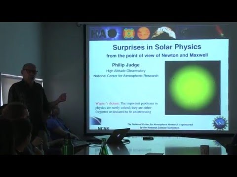 Surprises in solar physics from the point of view of Newton and Maxwell