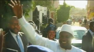 Adama Barrow sworn in as President, Ecowas forces enter Gambia