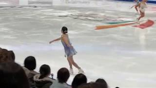 Part of Ladies' FS Warm Up, Group 3 - 2019 Four Continents Figure Skating Championships