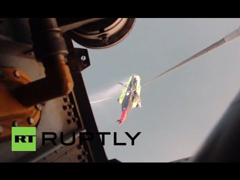 Russia: Rescuers pull crashed Mi-8 out of Sea of Okhotsk
