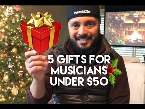 5 MUSICIAN GIFT IDEAS UNDER $50 | EPISODE 8 | GIGLIFE