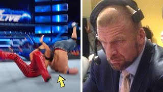 10 Unplanned WWE Moments That Were Met With Anger Backstage
