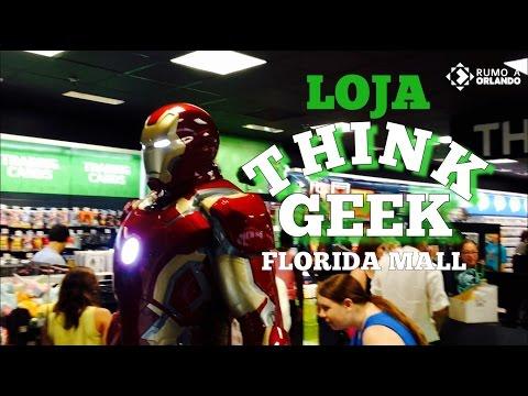 Loja Think Geek Florida Mall Rumo a Orlando#74