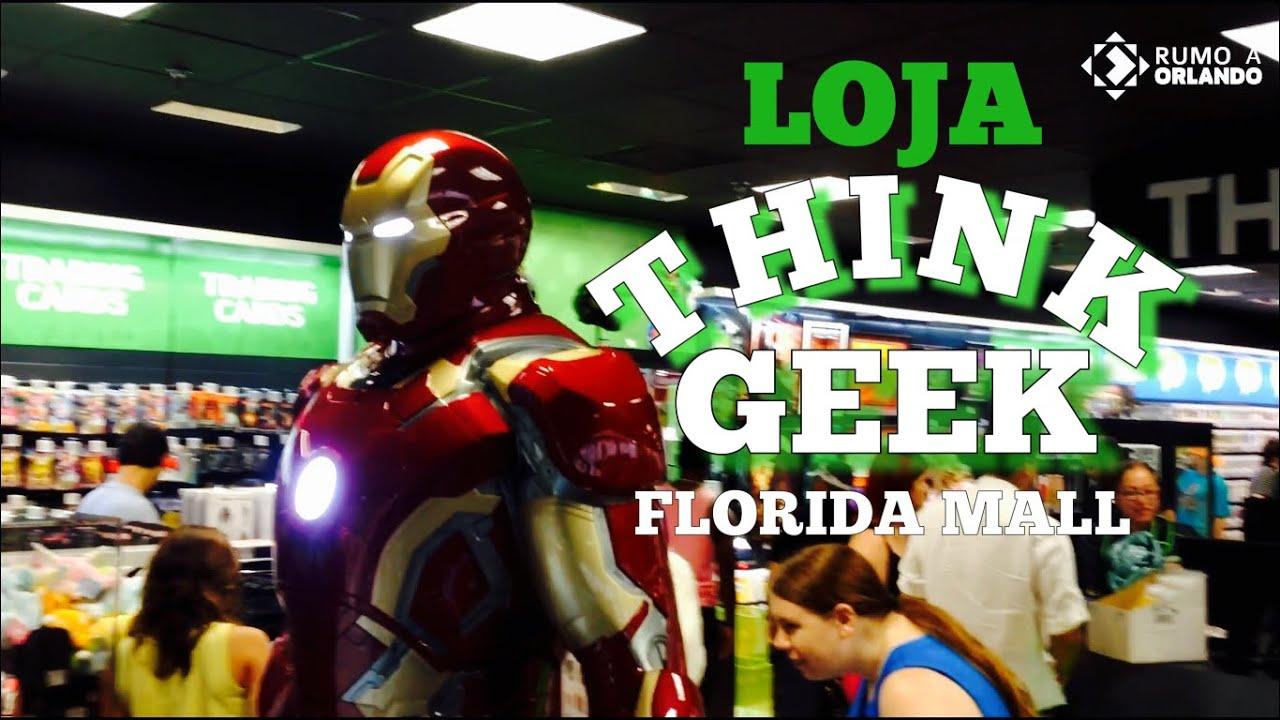 Loja Think Geek Florida Mall Rumo a Orlando 74 - YouTube 7f0a1335529