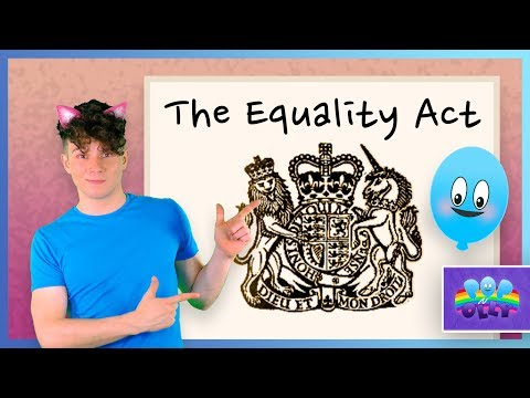 The Equality Act | Pop'n'Olly | Olly Pike