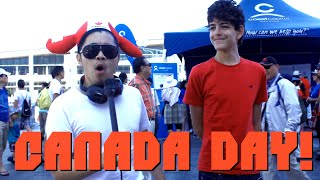 Chinese Guy Trolls Canadians on Canada Day 2015