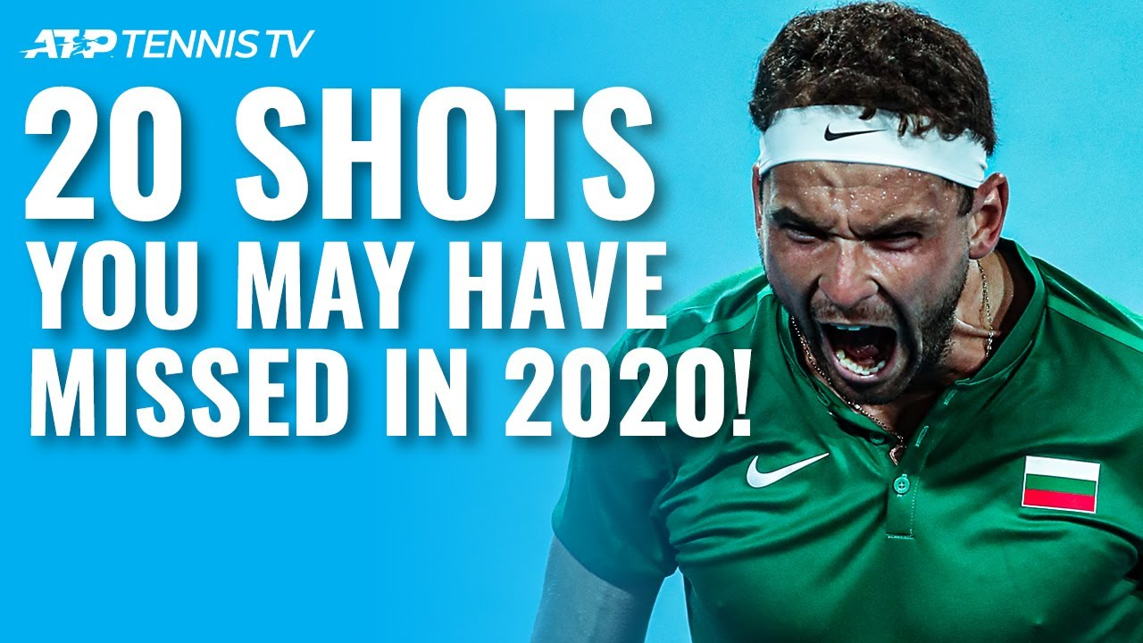 20 Unreal Tennis Shots you may have missed in 2020!
