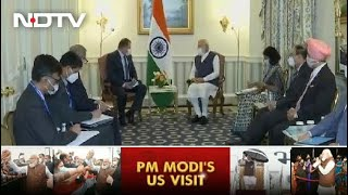 PM Meets Global CEOs On Day 1 Of US Visit | The News