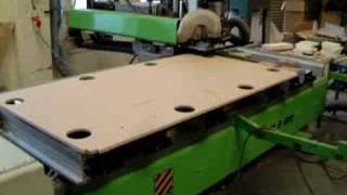 Biesse Cnc Making Pool Table
