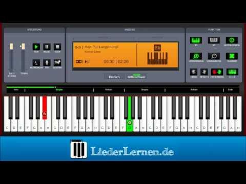 Konrad Elfers - Hej Pippi Langstrumpf - Klavier lernen - Musiknoten - Akkorde