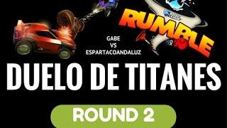Batalla de titanes - Rocket League Rumble - Gabe vs EspartacoAndaluz ROUND 2