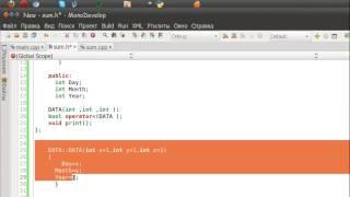 Классы C++ начальный урок