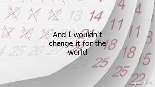 Life Changes by Thomas Rhett (Lyrics)
