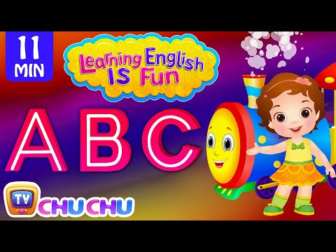 Thumbnail: Learning English Is Fun™ | ABC Songs | ChuChu TV Preschool English Language Learning For Children