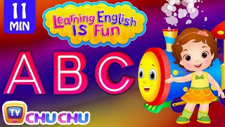 Learning English Is Fun™ | ABC Songs | ChuChu TV Phonics & Words Learning For Preschool Children thumbnail