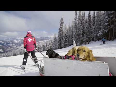Lindsey Vonn Goes Undercover as Vail Ski Patrol