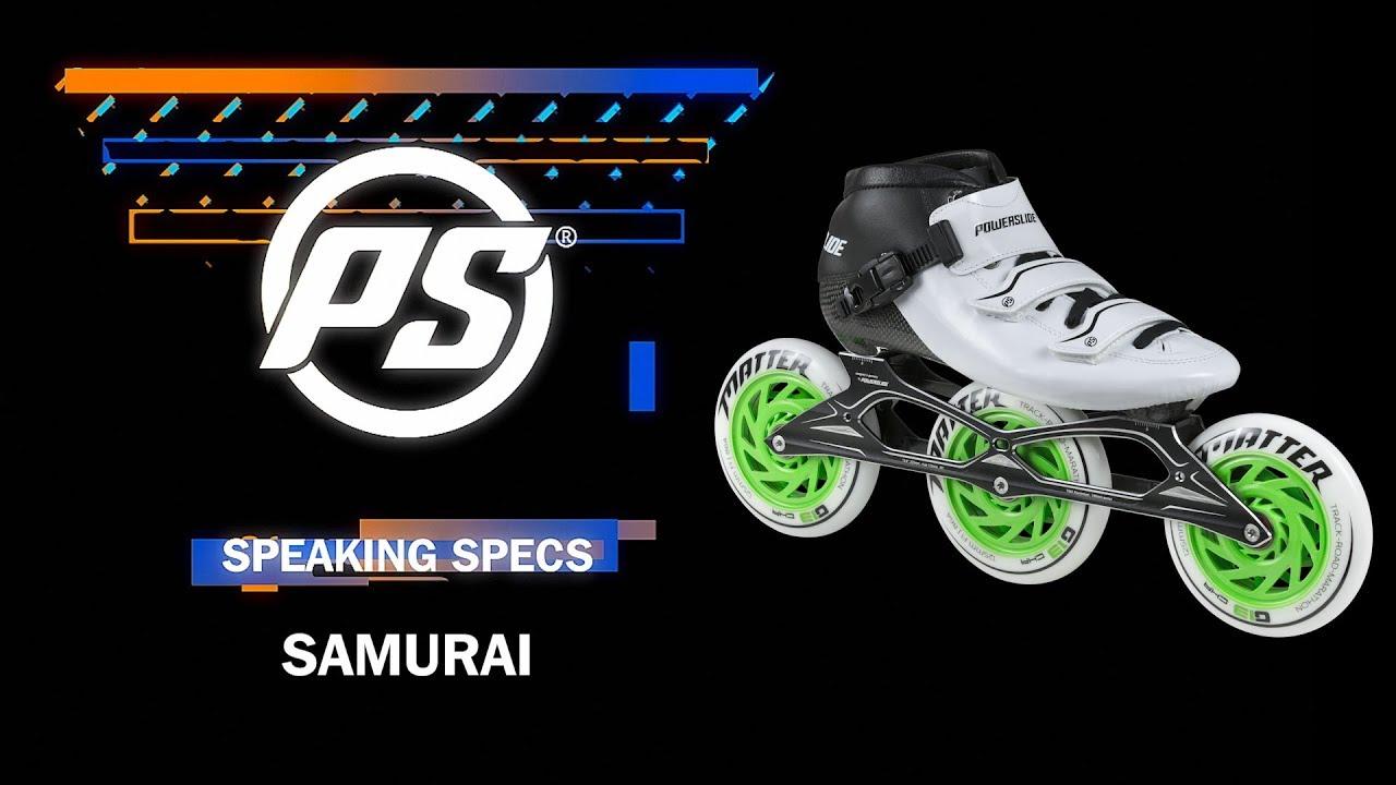 fcf05a8378b Powerslide Samurai skates - Powerslide Speaking Specs - YouTube