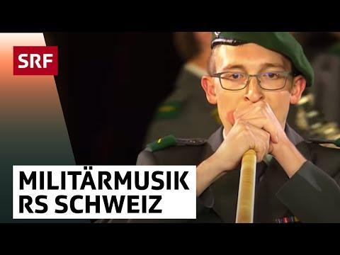MIlitärmusik Rekrutenschule Schweiz - Basel Tattoo 2017 vom 16.9.2017