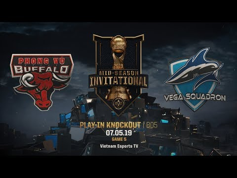 PVB vs VEG [HighLights MSI 2019] [07.05.2019] [Play-In Knockout] [Game 5]