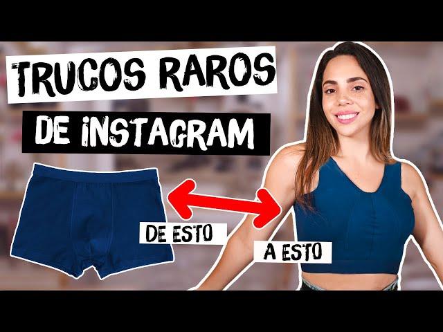 PROBANDO TRUCOS RAROS DE INSTAGRAM - tips engañosos?  What The Chic