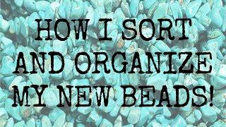 How I Sort and Organize my New Beads + BEAD ROOM TOUR  - BEADventurous EP 10