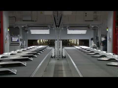BMW 3 Series Production, BMW Munich Plant Press SHop