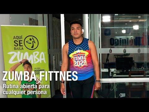 """Potencia tus defensas y baila en OPINIÓN junto a """"Zumba Fitness con Rodrigo"""""""